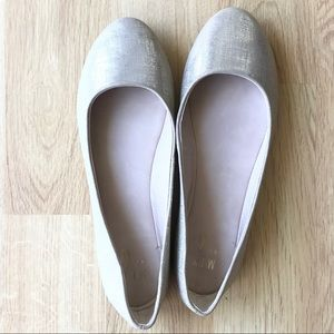 Mix No. 6 Flats Dress Shoes Tan/Gold Size 10